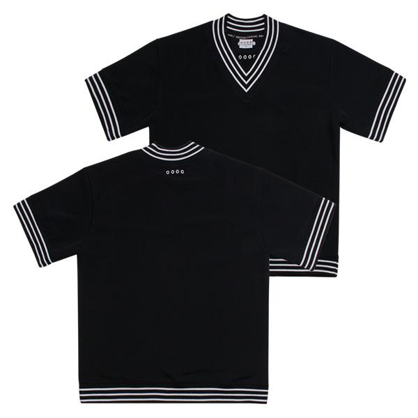LAMC V NECK SHORT JERSEY (BLACK)