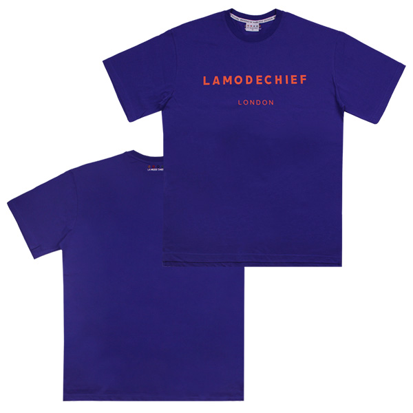 [단독할인]LAMC LONDON LOGO SHORT TEE (BLUE)