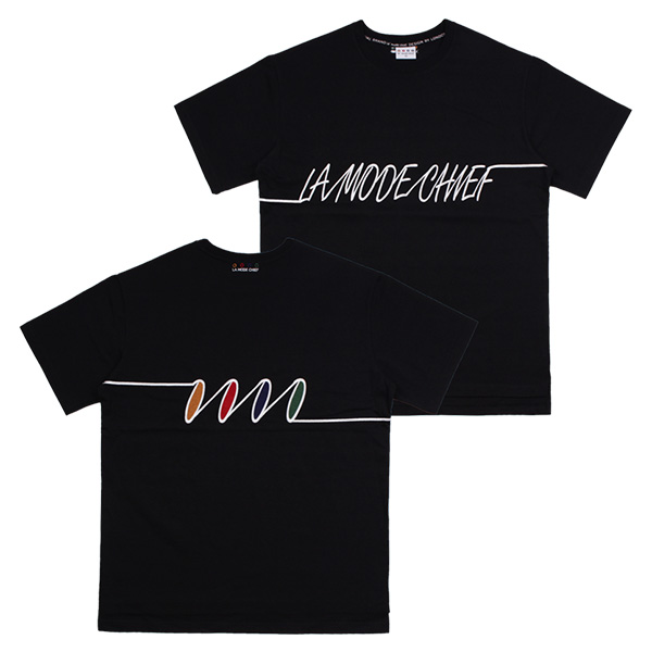 LAMC FREQUENCY SHORT TEE (BLACK)