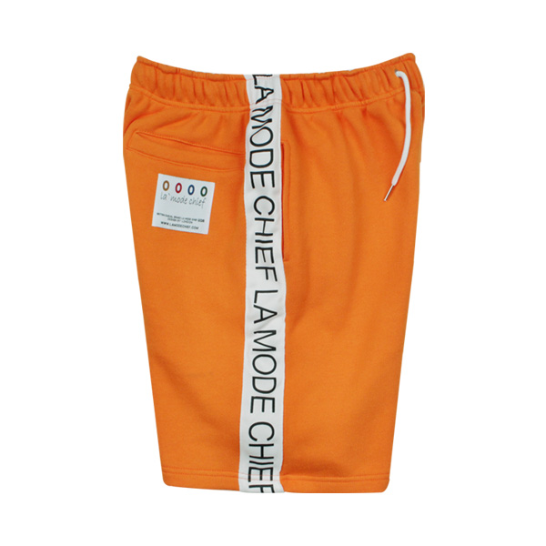 [단독할인]LAMC SIDE LETTERING SHORT PT (ORANGE)