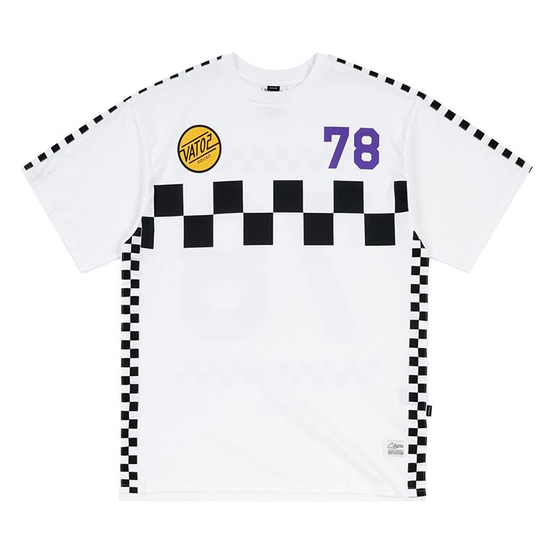STIGMA RACER OVERSIZED T-SHIRTS WHITE
