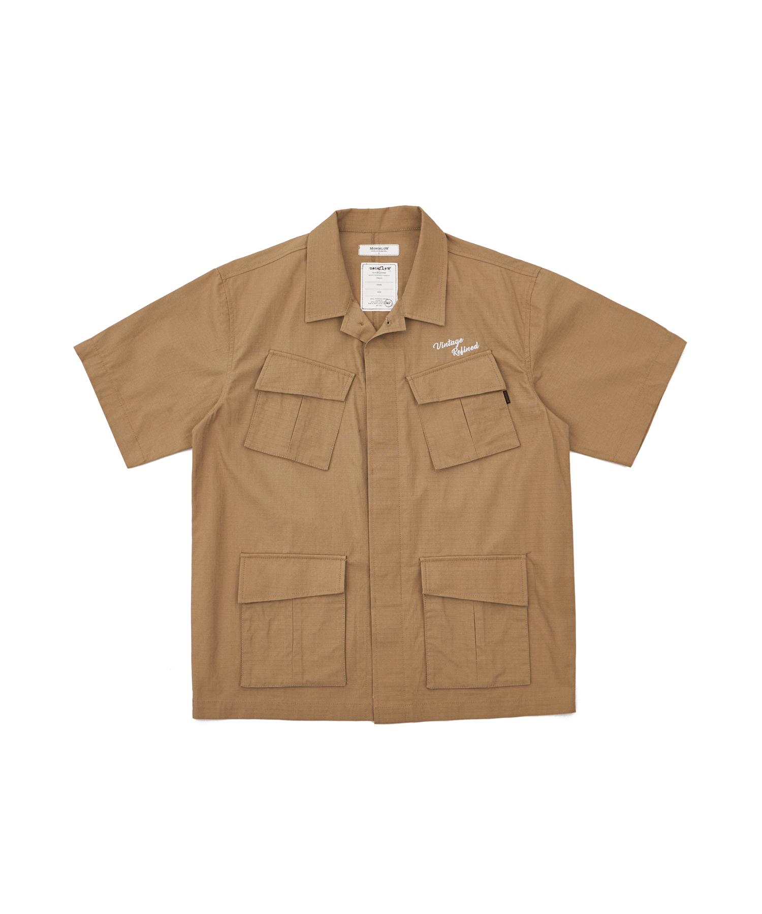 모노플로우 사파리 반팔 셔츠 SAPARI SHIRT