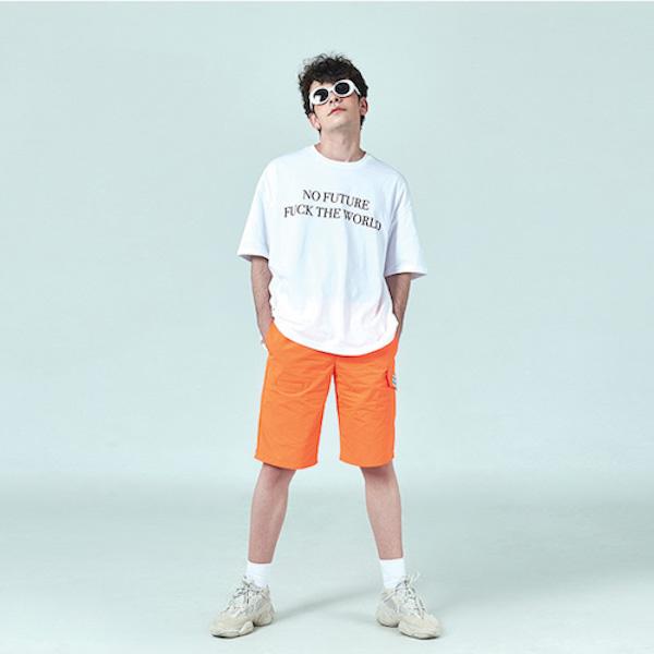 [데드엔드] WHITE NO FUTURE T-SHIRTS