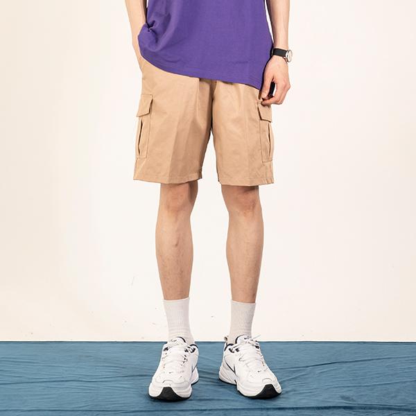 [MAXIM 8월호 하하 착용][150]HARDTACK SHORT CARGO PANTS(BEIGE)