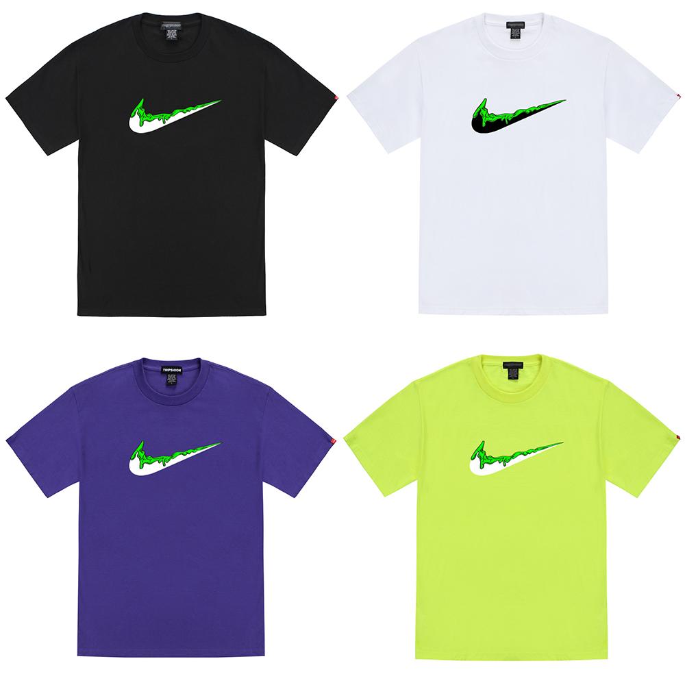 [단독할인]초록 치약 밴딩 티셔츠 - 8컬러