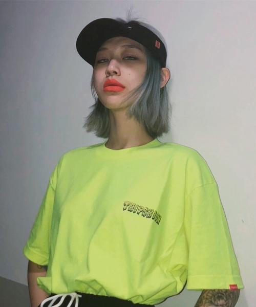 [단독할인]라임 슬라임 티셔츠 - 8컬러