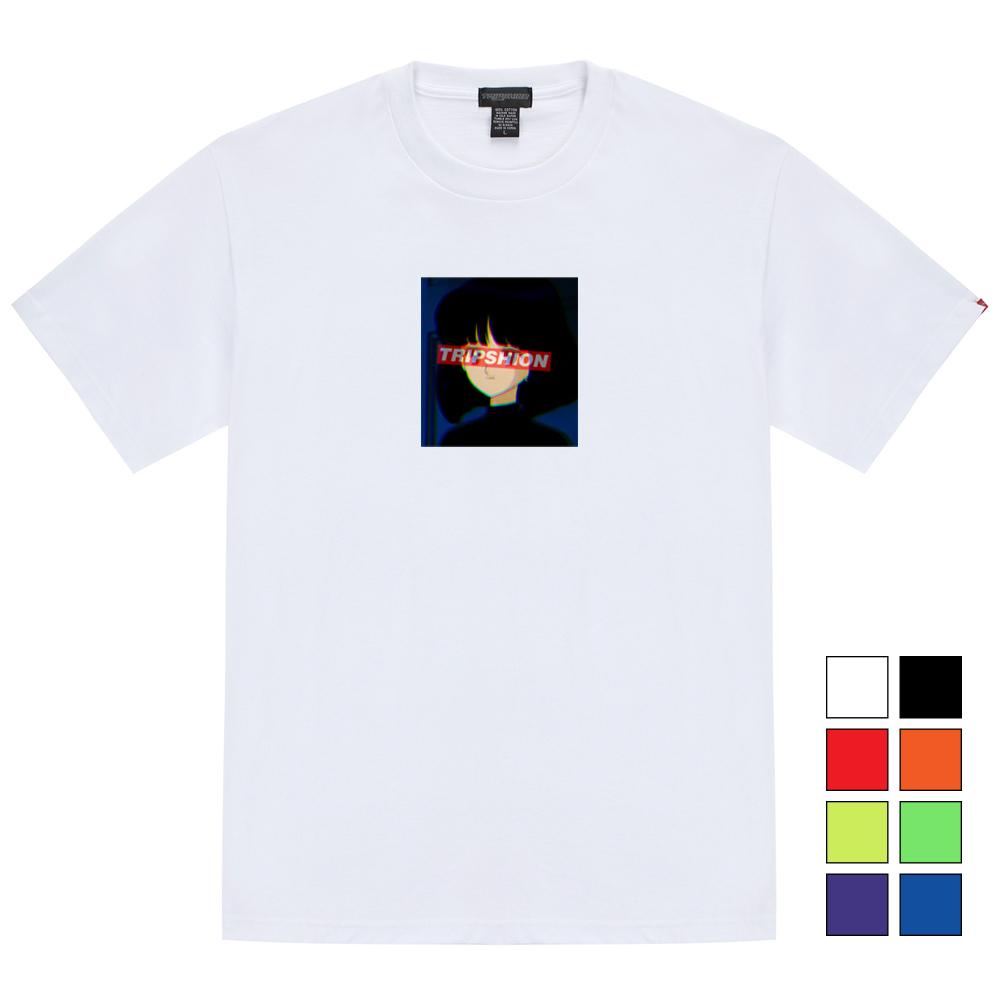걸 스퀘어 티셔츠 - 8컬러