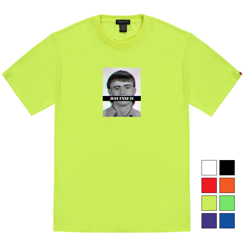 [단독할인]저스트 퍼킷 티셔츠 - 8컬러