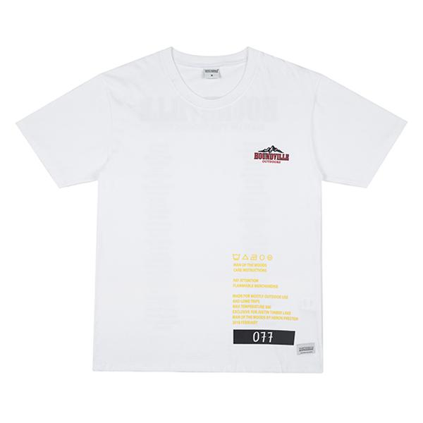 WOODS TOUR t-shirt white