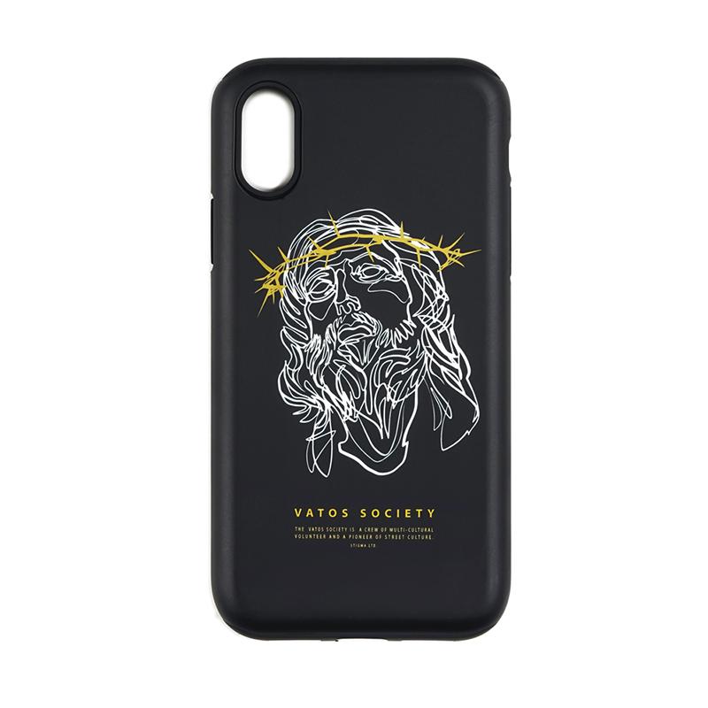 STIGMA PHONE CASE JESUS ver.2 BLACK iPHONE 7 / 7+ / 8 / 8+ / X