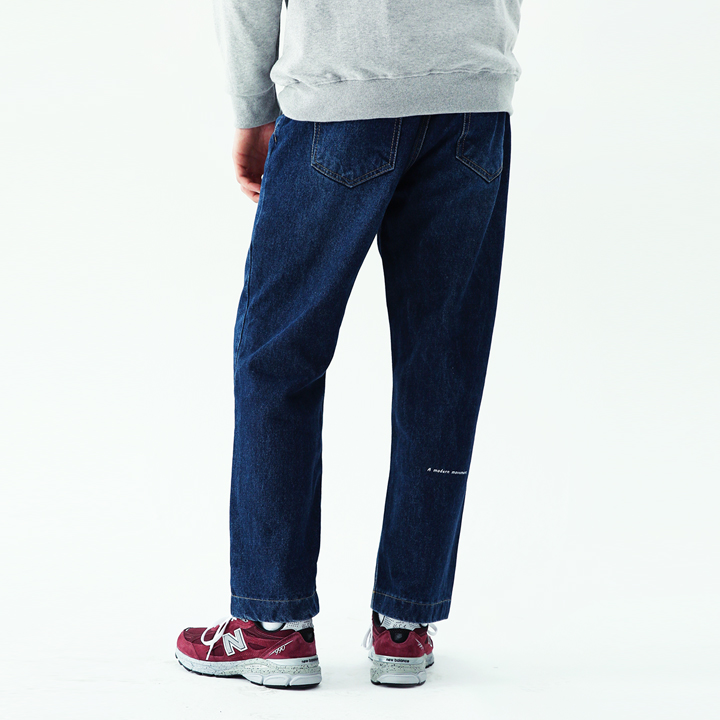Regular banding pants(dark blue)