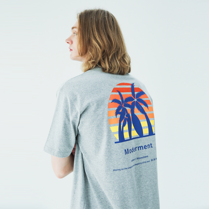 Sunshine Half-tee(gray)