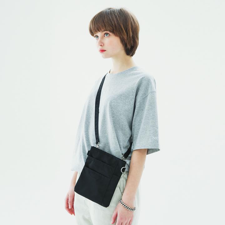Sleevelogo Half-tee(gray)