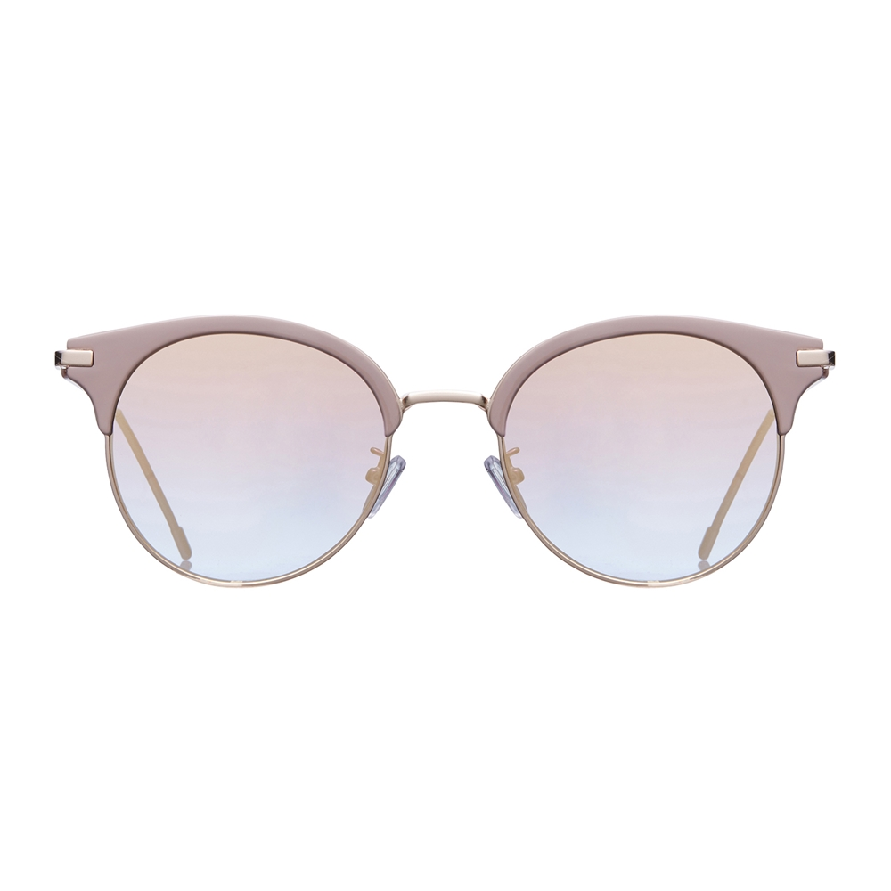 ROSS beige 미러 선글라스