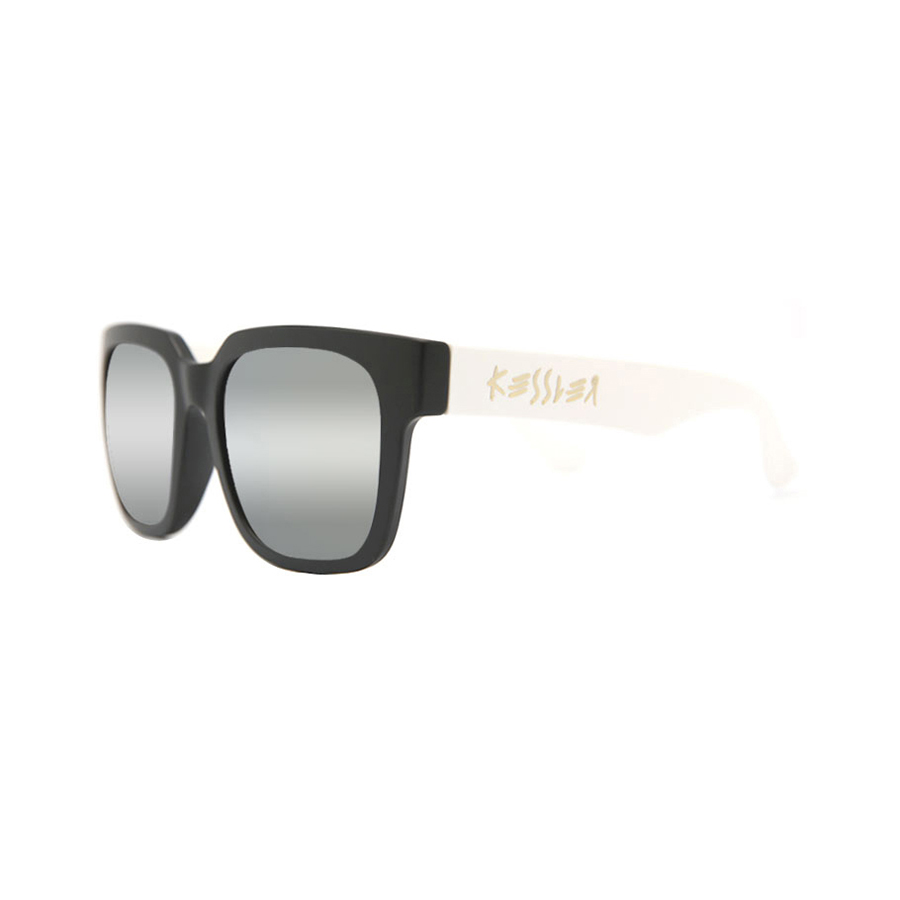 [케슬러] KESSLER - CLOUD BK-WH_S (BLACK / WHITE / SILVER) 미러 선글라스