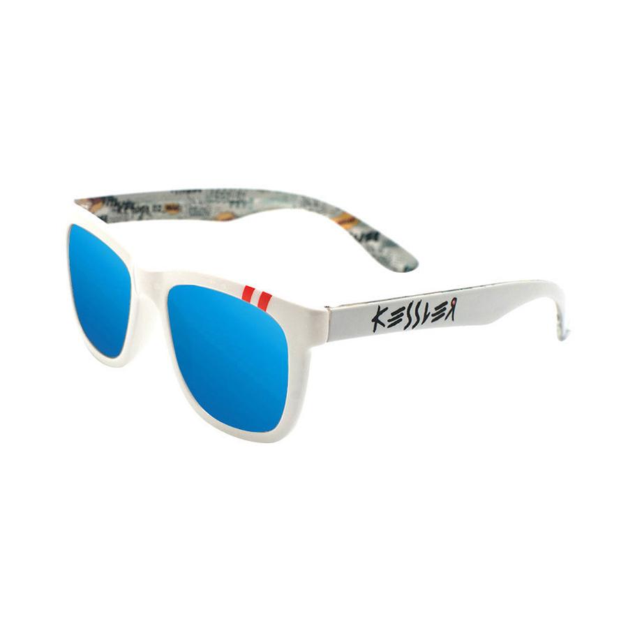 [케슬러] KESSLER - KE300102 WH_B (WHITE / BLUE) 미러 선글라스