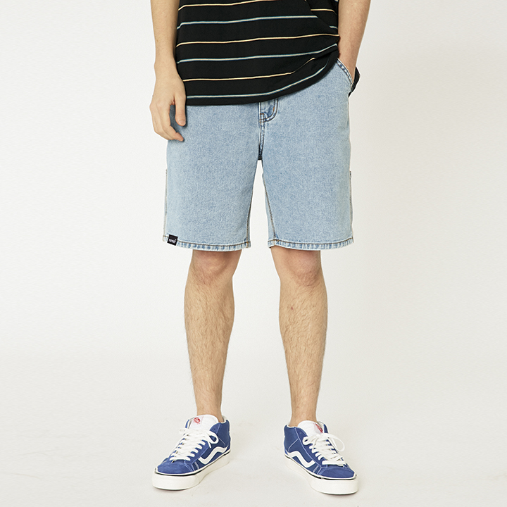 SIDE POCKET SHORTS_LIGHT BLUE