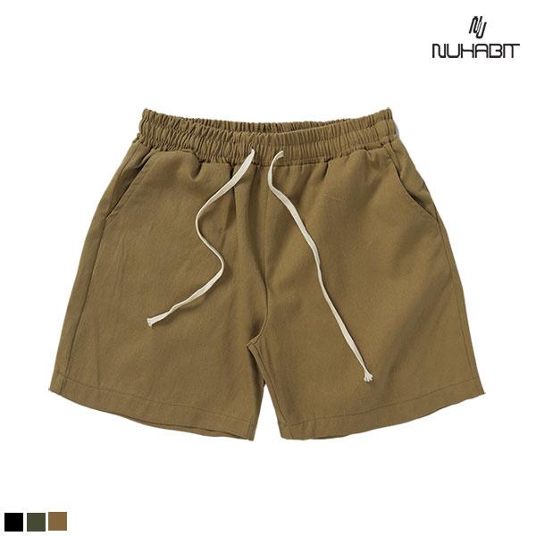 [A_14] 뉴해빗 - Cotton Basic Short Pants - 치노반바지 - 4 Colors