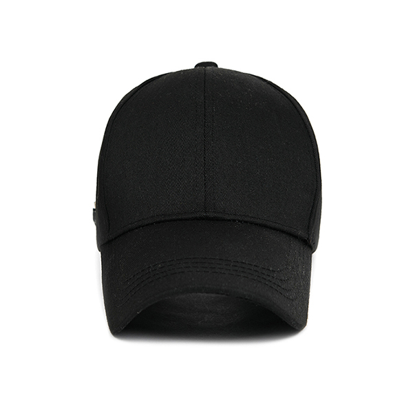 MINIMAL 3-PIN BALL CAP_BLACK