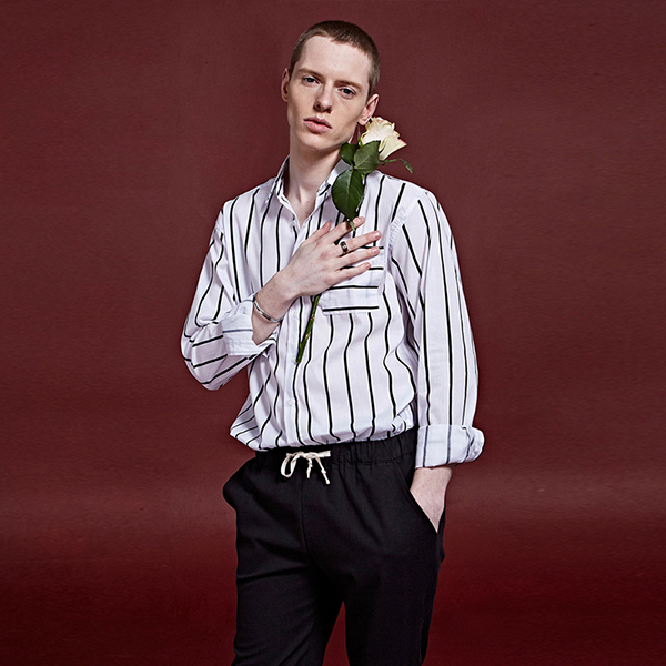 [DEANS] BOLD ST OVERFIT SHIRTS_WHITE