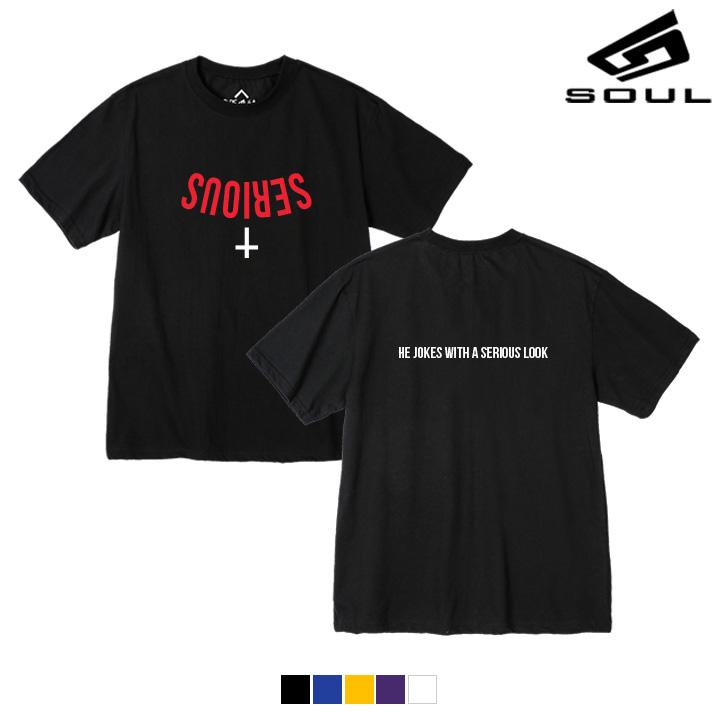 다소울 - Serious cross - S8S-022 - 나염반팔
