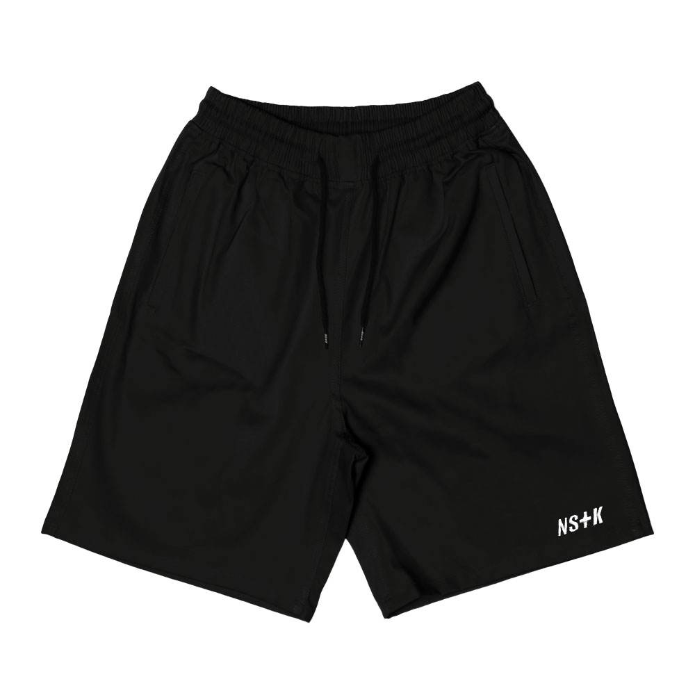 [NSTK] EASY CODE 003 SHORT PANTS (BLK)