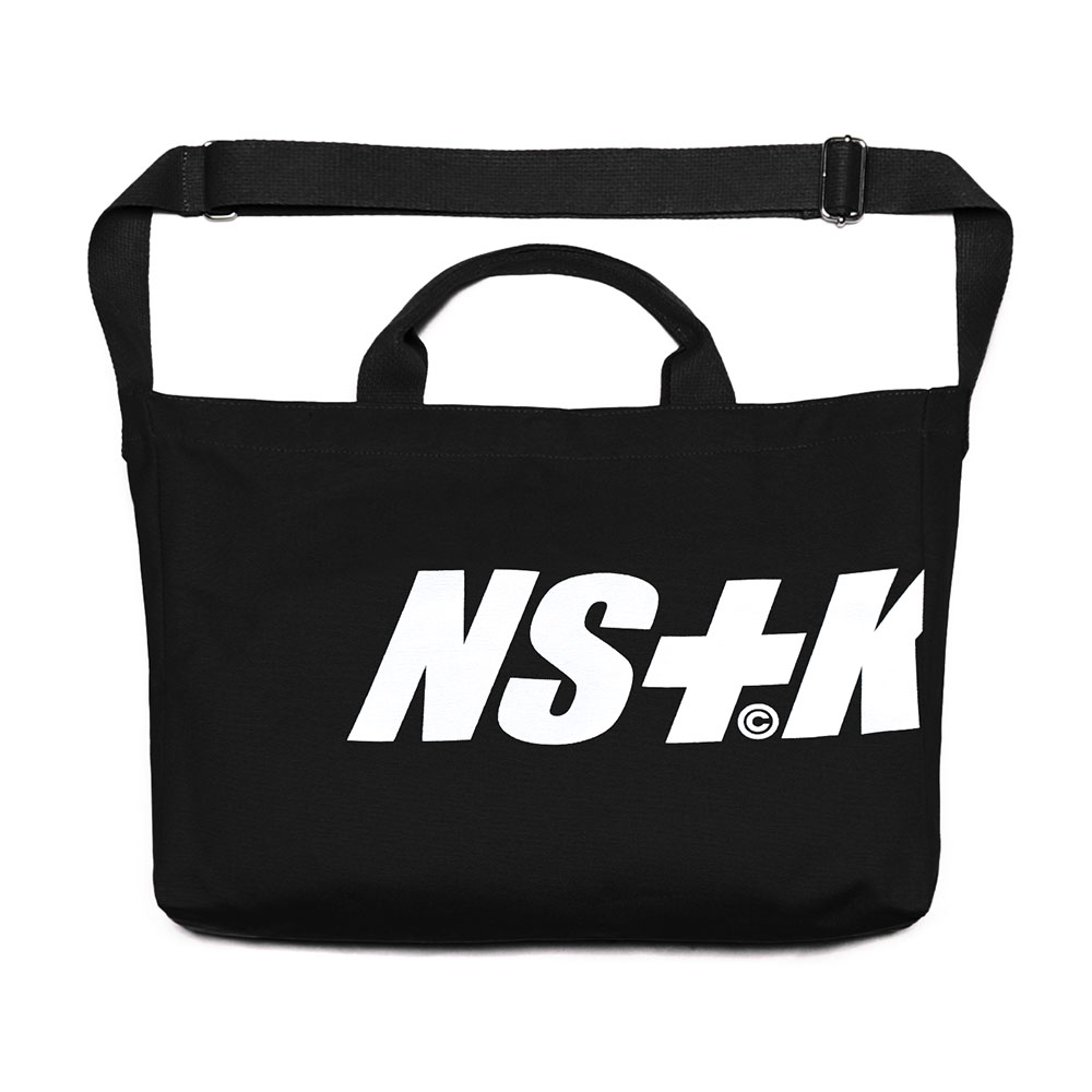 [NSTK] NSTK 2WAY BAG (BLK)