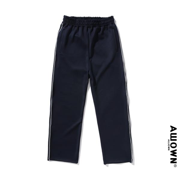 올라온 - Piping Training Pants - Navy