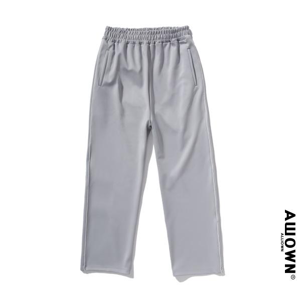 올라온 - Piping Training Pants - Gray