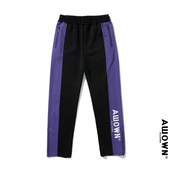 올라온 - Training Pants - Black/Puple