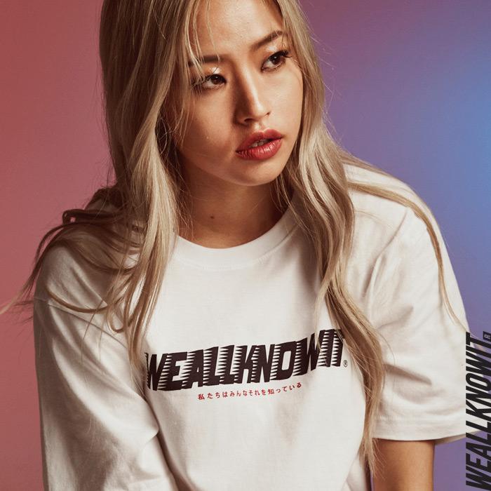[위올노잇]WEALLKNOWIT 신상 반팔 티셔츠 WS101-화이트