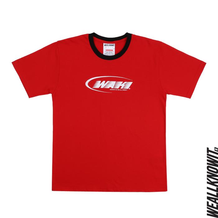 [위올노잇]WEALLKNOWIT 신상 반팔 티셔츠 WS102-레드