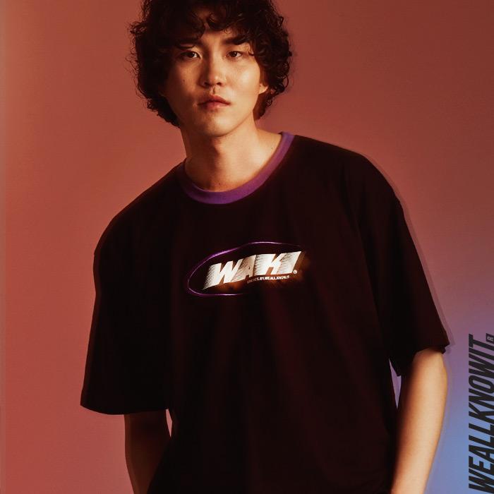[위올노잇]WEALLKNOWIT 신상 반팔 티셔츠 WS102-블랙