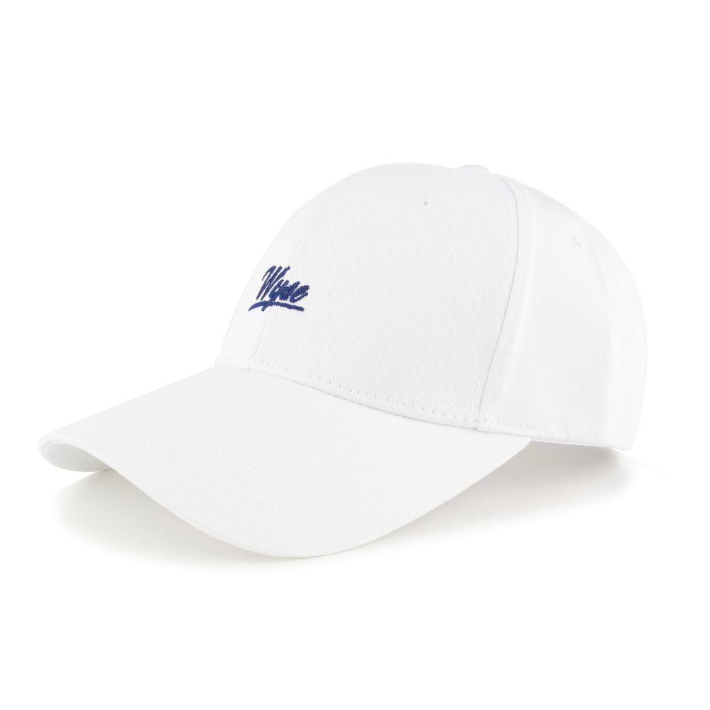 [와이즈] WYSE - SCRIPT BALLCAP (WHITE) 모자 야구모자 볼캡