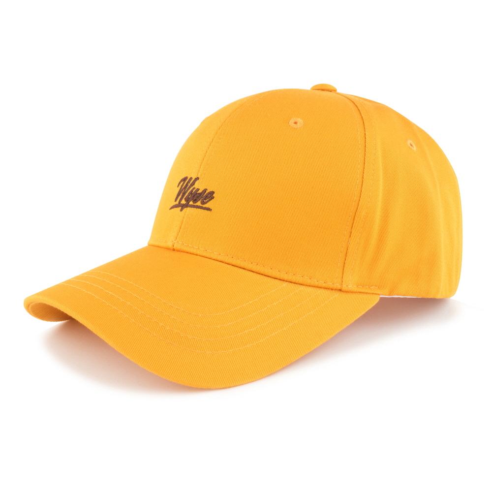 [와이즈] WYSE - SCRIPT BALLCAP (YELLOW) 모자 야구모자 볼캡