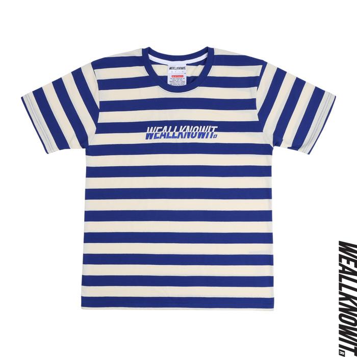 [위올노잇]WEALLKNOWIT 신상 단가라 반팔 티셔츠 WDA101-아이보리