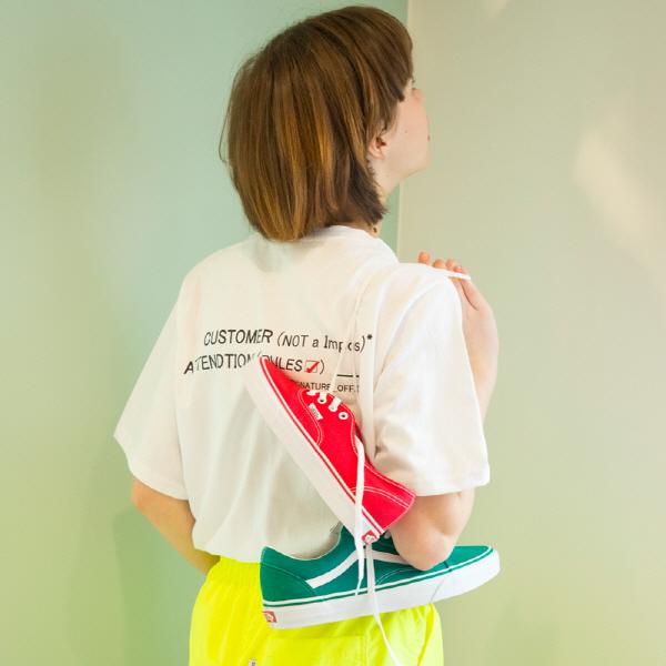 유니섹스 커스터머 티셔츠 [화이트] (16수)