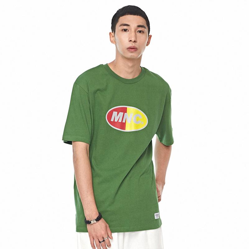 MNC 프린팅 티셔츠 그린