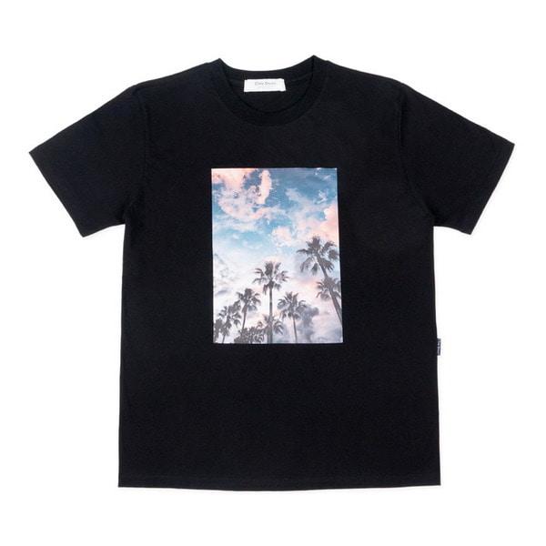 PALMTREE SHORT SLEEVE TEE (BLACK)