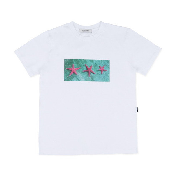 STARFISH SHORT SLEEVE TEE (WHITE)