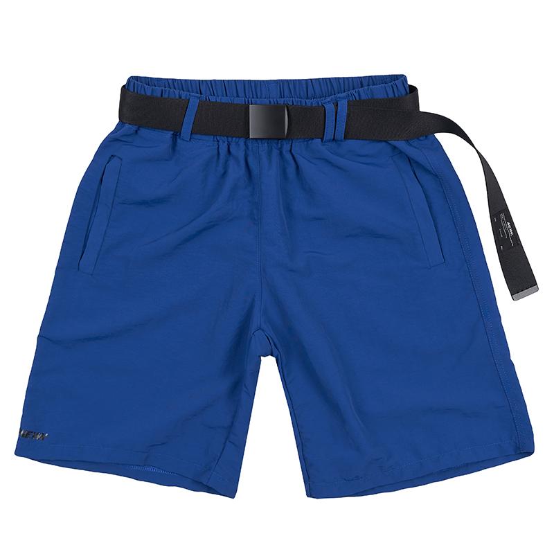 유틸리티 숏 팬츠 블루
