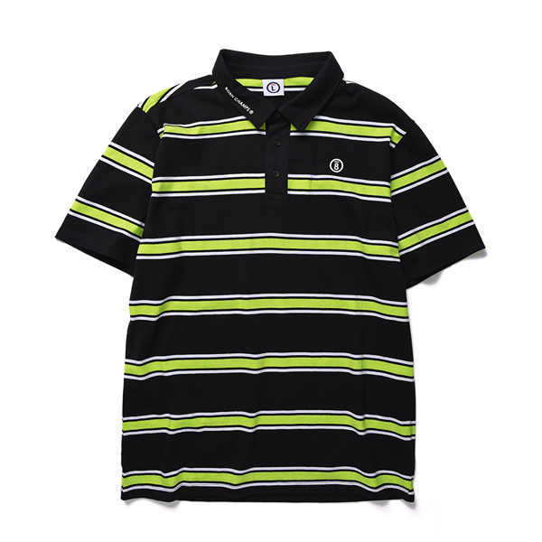 BC STRIP POLO TEE CERBMPQ01GR