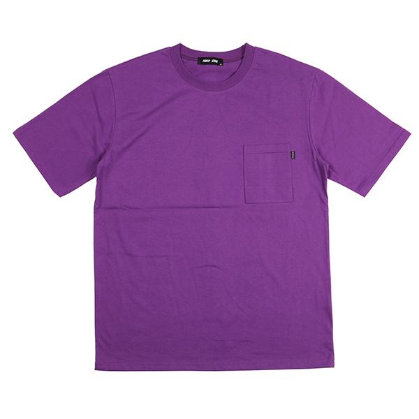 스탠다드 포켓 티셔츠 (퍼플)