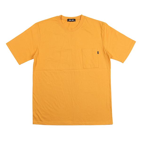 스탠다드 포켓 티셔츠 (머스터드)