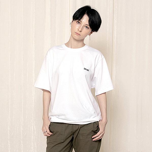 로고 티셔츠_화이트