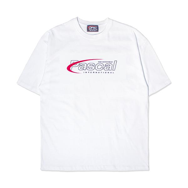 PASCAL LOGO T-SHIRT WHITE