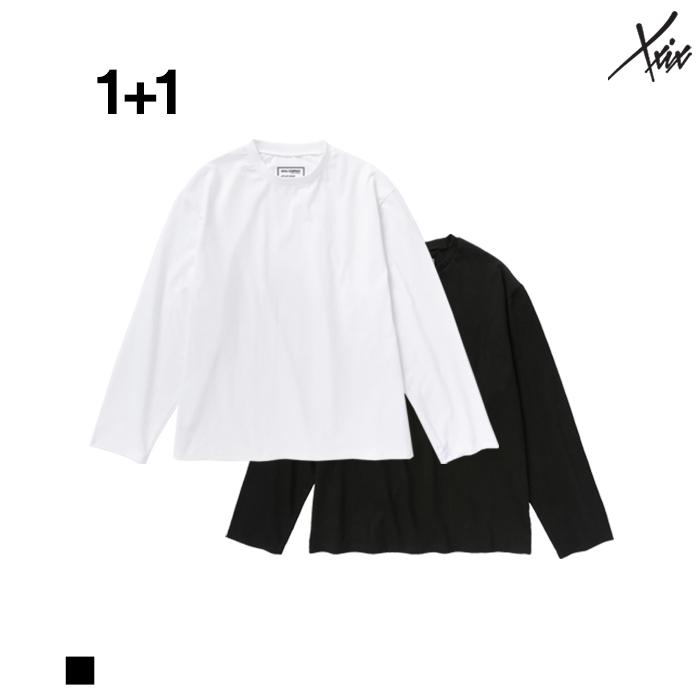 [A_12][1+1] XXIX - 무지 롱슬리브 티셔츠 - 2color