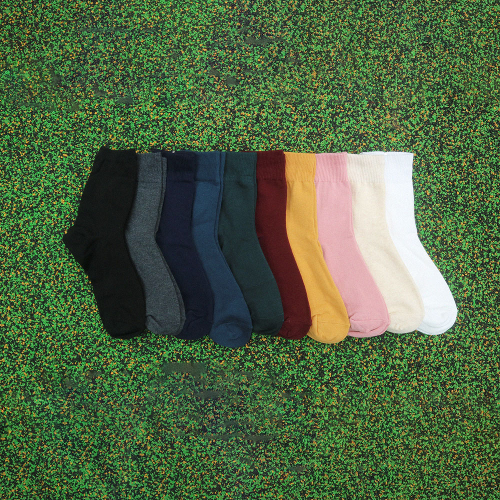 [남녀공용] Long rib socks