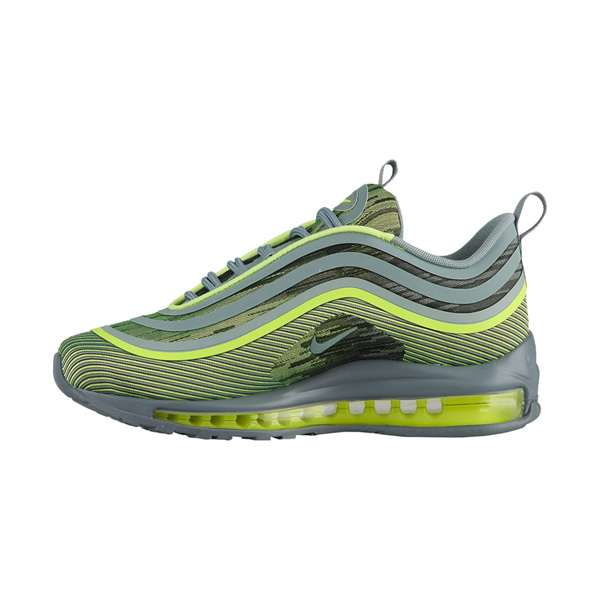 Nike Air Max 97 Ultra '17 VoltMica GreenCool Grey Shoes
