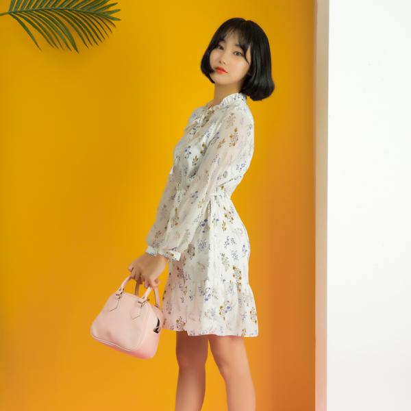 [UNDERCROSS_GIRL] 레이나 토트백 크로스백 핑크